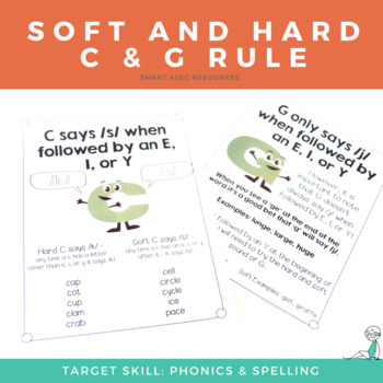 Soft And Hard C And G Rule Introduction Gillingham Worksheets And