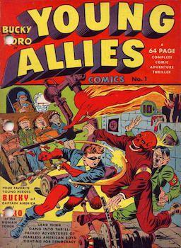 Golden Age Comic Covers Gallery | Patriotic Superheroes | POPX1.1x Courseware | edX