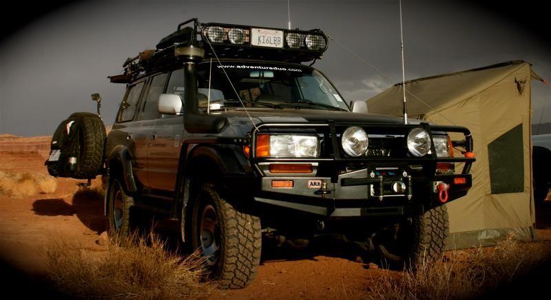 Www Adventureduo Com 1993 Toyota Landcruiser Fzj80