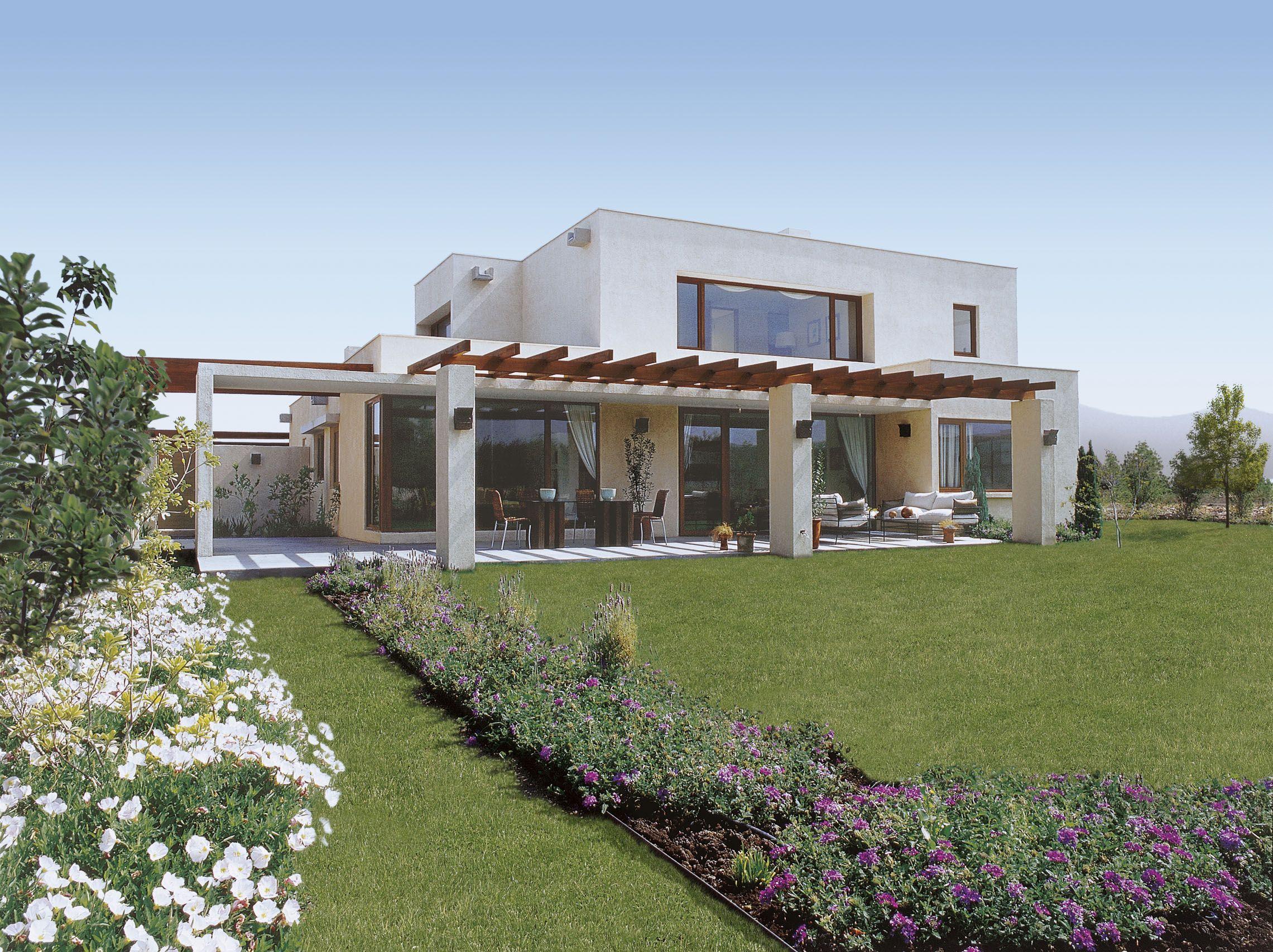 El encanto de las casas mediterr neas casas pinte for Casa moderna jardin d el menzah