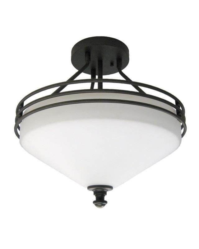 epiphany lighting 104470 orb semi flush ceiling mount in oil rubbed