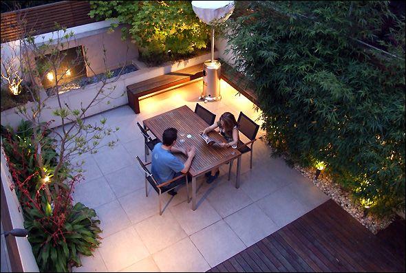 Pin de Alexandra Druesne en outdoor Pinterest Jardines, Terrazas - diseo de jardines urbanos