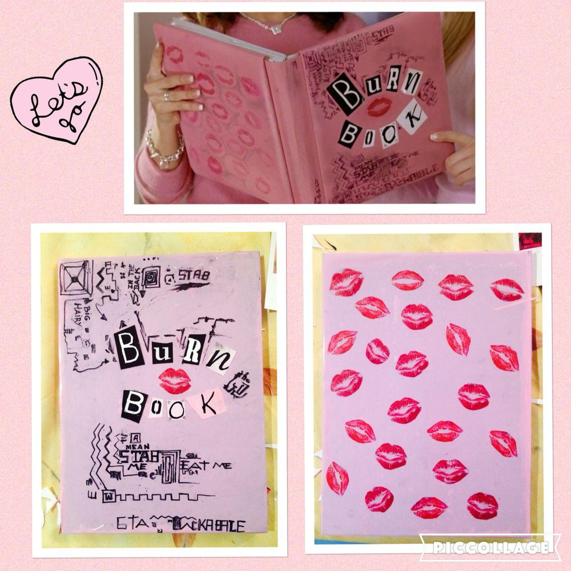 Mean Girls Burn Book Tutorial Journal Do It Yourself Mean Girls Burn Book Diy Book Mean Girls