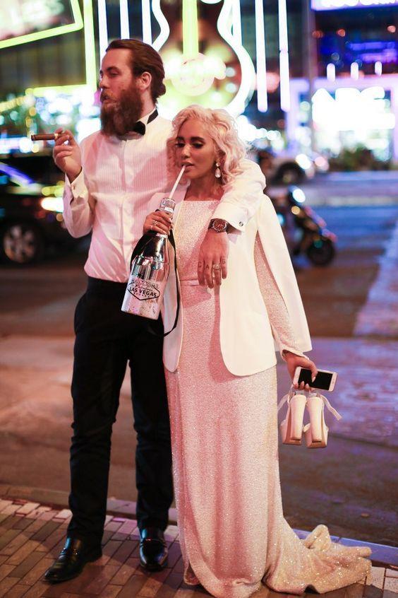 Secret Las Vegas Wedding - Rock and Roll Bride Omgggg this is ...