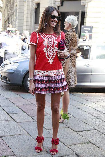 2011 Fashion Week, Milan.