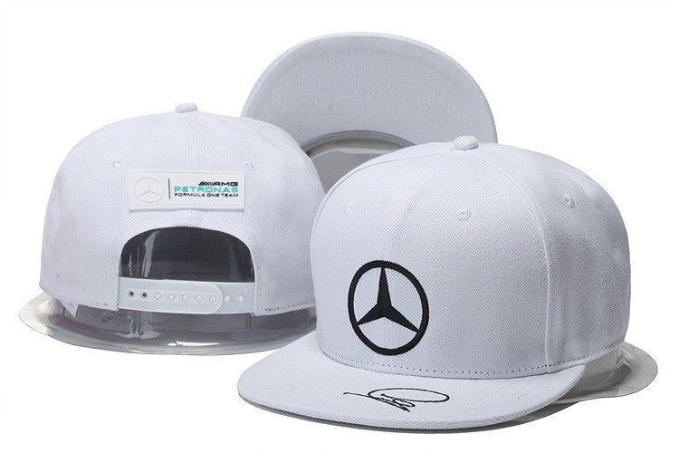 7d0ec1fe465 Embroidered Mercedes Benz² Logo Amg Cap Sport Snapback Hat Outdoor  Adjustable P1