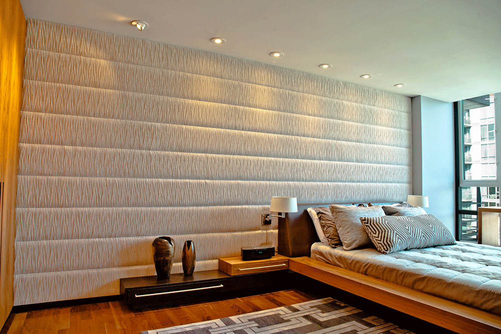 Upholstered Wall   Upholstered Walls For Sophisticated Glamour
