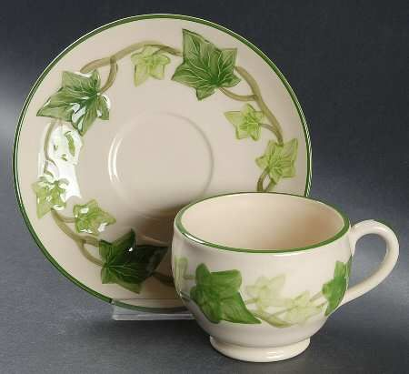 Franciscan Ivy (American) at Replacements Ltd & Franciscan Ivy (American) at Replacements Ltd | teacups and china ...