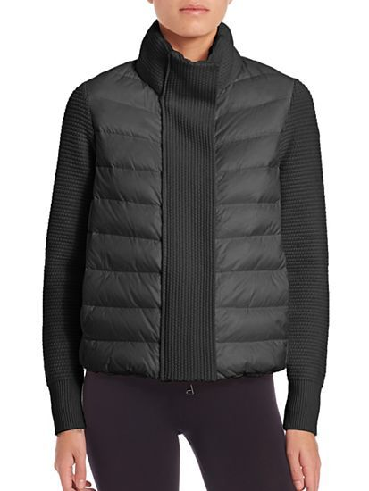 I'm shopping Moncler in the Saks iPhone app.