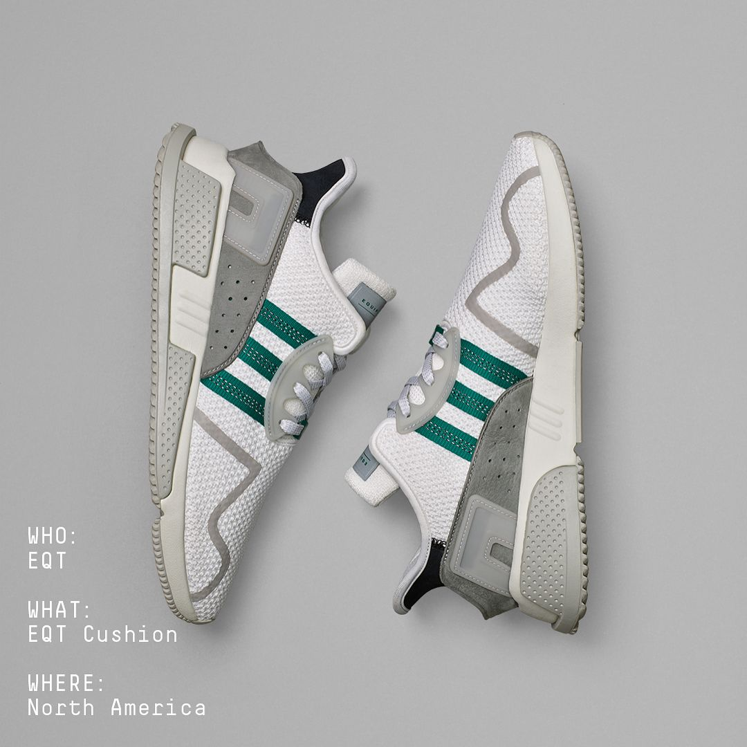 pretty nice b0d40 81b74 adidas Originals is ready to expand its modern Equipment lineup with the EQT  Cushion ADV. Based on the classic EQT Cushion the sneaker will launch in a