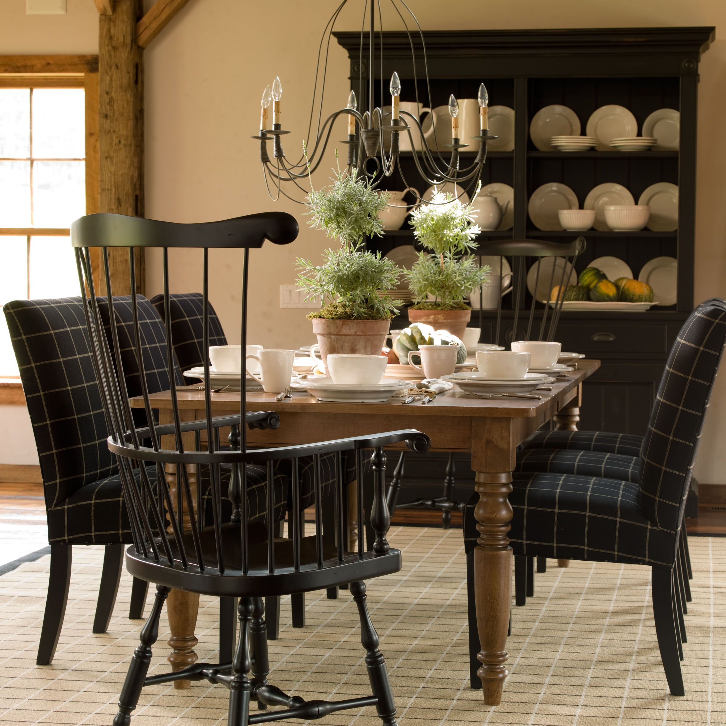 Burton Armchair  Ethan Allen Uslove The End Chair Dining Amusing End Chairs For Dining Room Inspiration Design