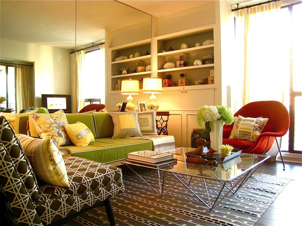Orange And Yellow Living Room Orange Yellow Green Living Room Yes Yes Go