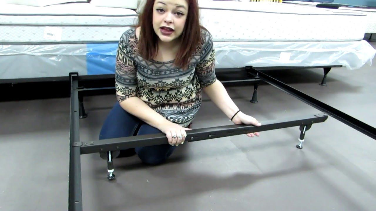 full/queen metal bed support - an easy to assemble bed frame