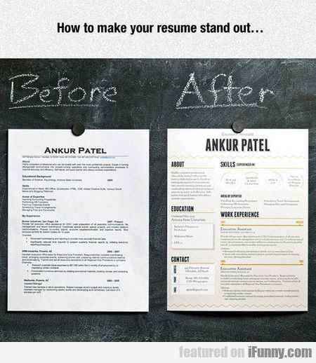 How To Make Your Resume Stand Out Wishful Thinking - make your resume
