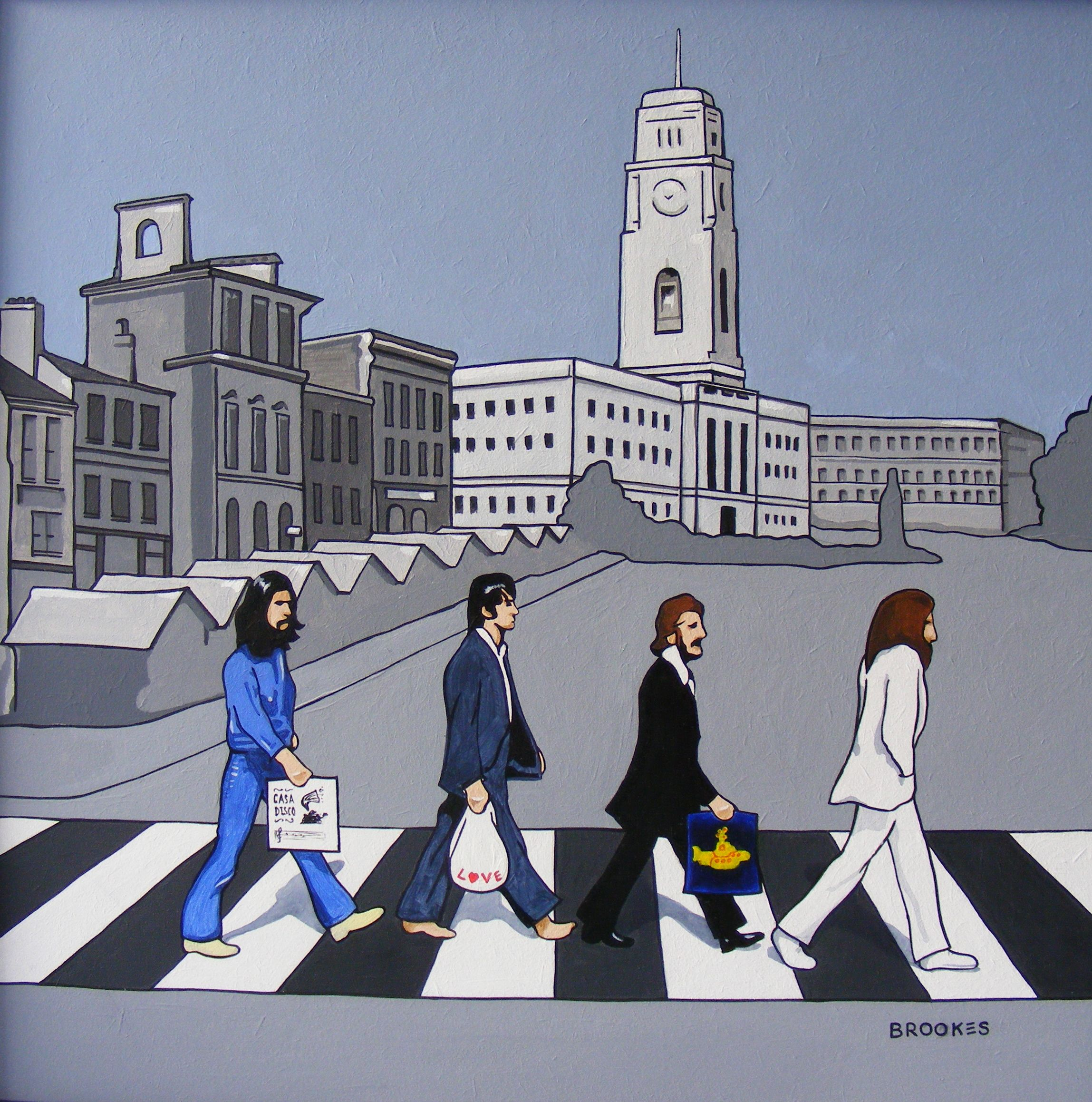 """when the beatles came to barnsley"""" image © terry brookes 