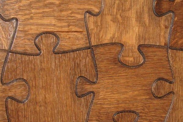 puzzle floor tile