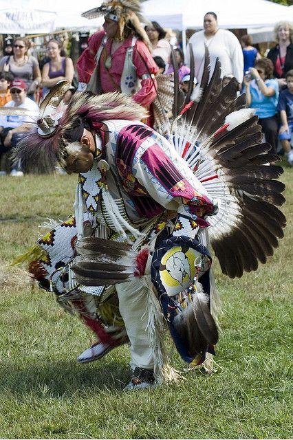 DSC_9478 - Dancer Redhawk Native American Arts Council PowWow FDR State Park NY, via Flickr.