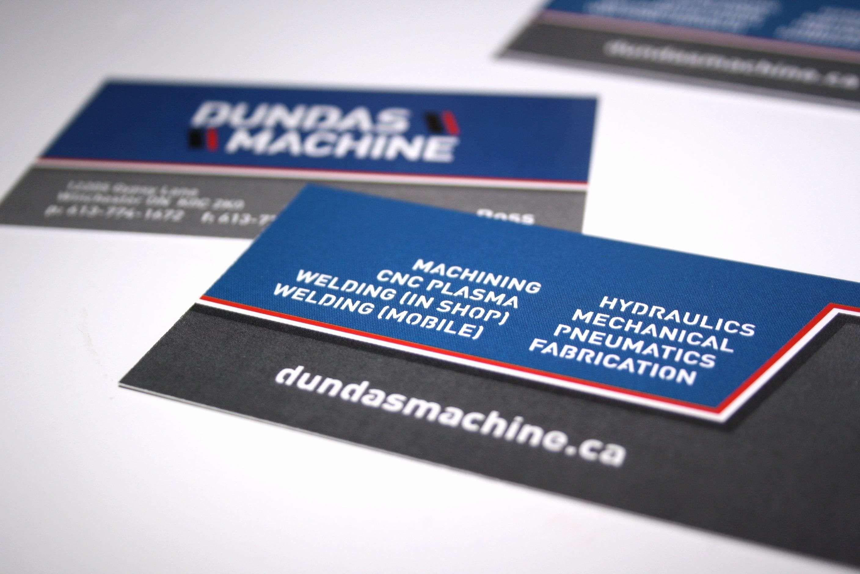 Business Card Showcase Template In