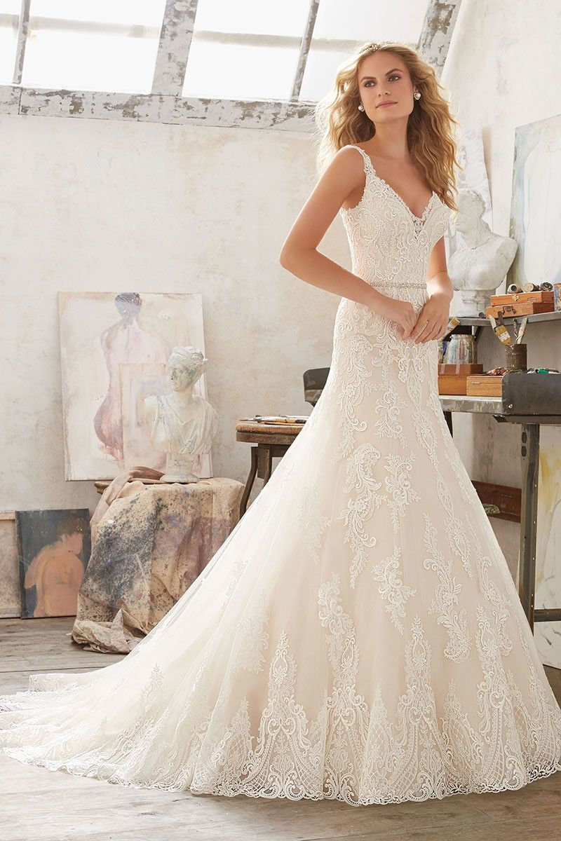 Wedding dress out of morilee by madeline gardner marianna