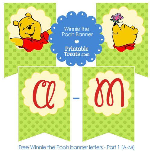 Printable Winnie the Pooh Gift Tags from PrintableTreatscom