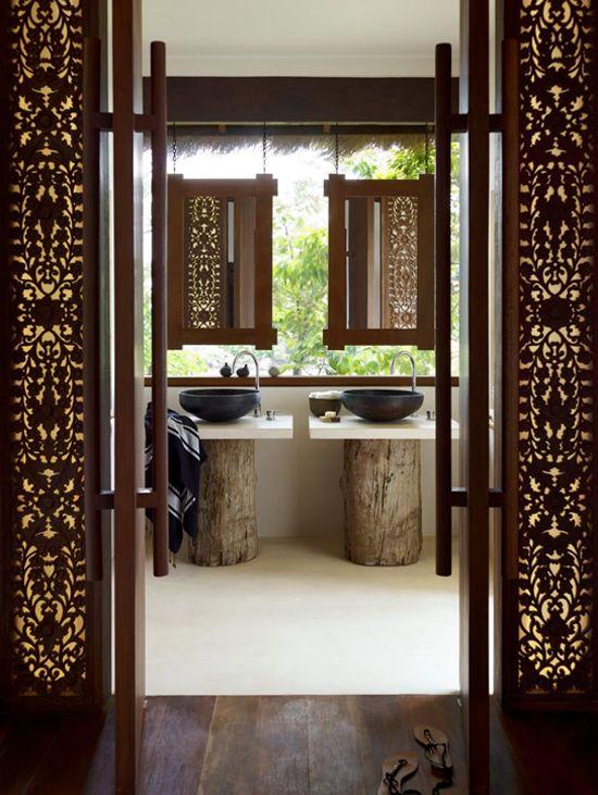 Wohnideen Privat song saa island cambodia hotel lobby design lobby