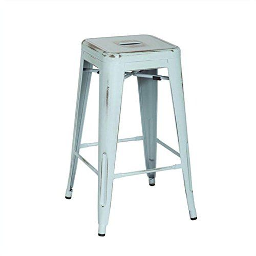 OSP Designs BRW3026A4-ASB Bristow Antique Metal Barstool, 26-Inch, Antique Sky Blue, 4-Pack - http://www.newofficestore.com/osp-designs-brw3026a4-asb-bristow-antique-metal-barstool-26-inch-antique-sky-blue-4-pack/