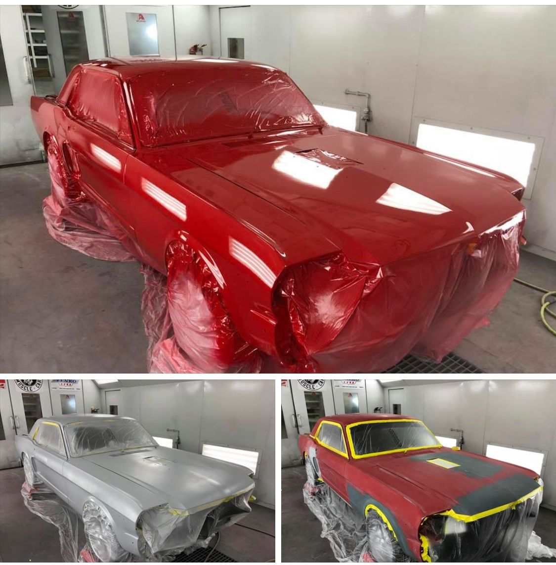 Yes Unlike Most Shops We Still Do Complete Paint Jobs And