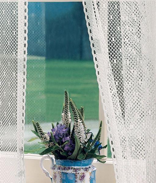 Point Du0027esprit Lace Curtains | Point Du0027Esprit Lace Door Panel |  PaulsHomeFashions