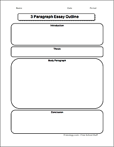 brainstorming form for the paragraph essay use this page to essay outline for se kiddos