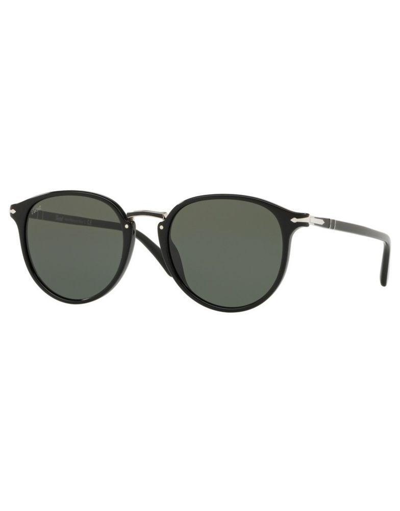 25e0ea5734774 Sunglasses PERSOL original PO3210S 95 31 54 Black Green (eBay Link) Women s  Accessories