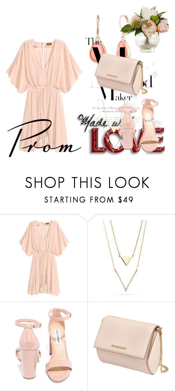 """""""Fondness"""" by erohina-d ❤ liked on Polyvore featuring beauty, Steve Madden, Givenchy and Vintage America"""
