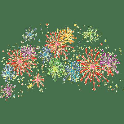 Cartoon Fireworks Cartoon Fireworks Firework Painting How To Draw Fireworks