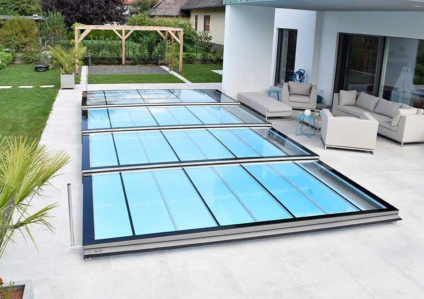 kratzfeste pool berdachung aus echtglas made in austria pool pinterest poolabdeckung. Black Bedroom Furniture Sets. Home Design Ideas