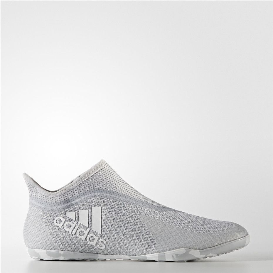 new arrivals 7bf76 632db Adidas X Tango 17+ Purespeed Indoor Shoes (Clear Grey / Running White /  Grey)