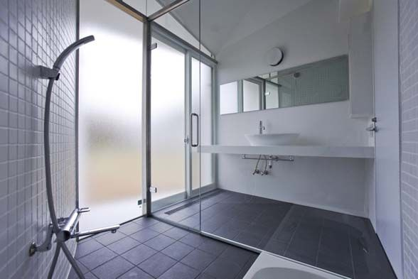 minimalist bathroom design urban japanese house - Japanese Bathroom Design