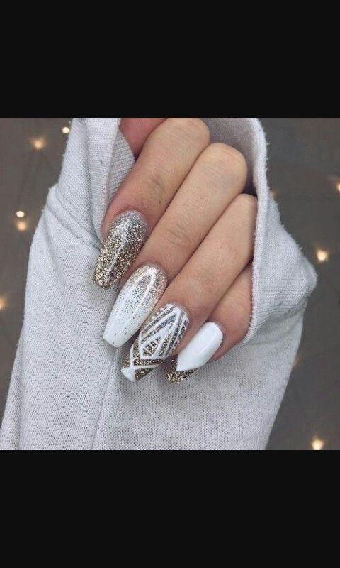 Cute Tumblr Nails Gorgeous Nails Holiday Nails Acrylic Nail Designs