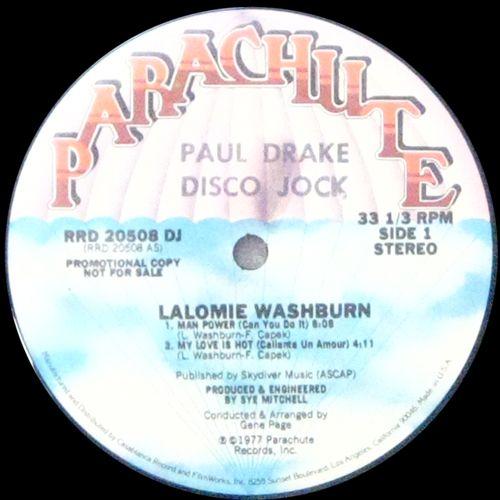 Lalomie Washburn - Man Power (Can You Do It)
