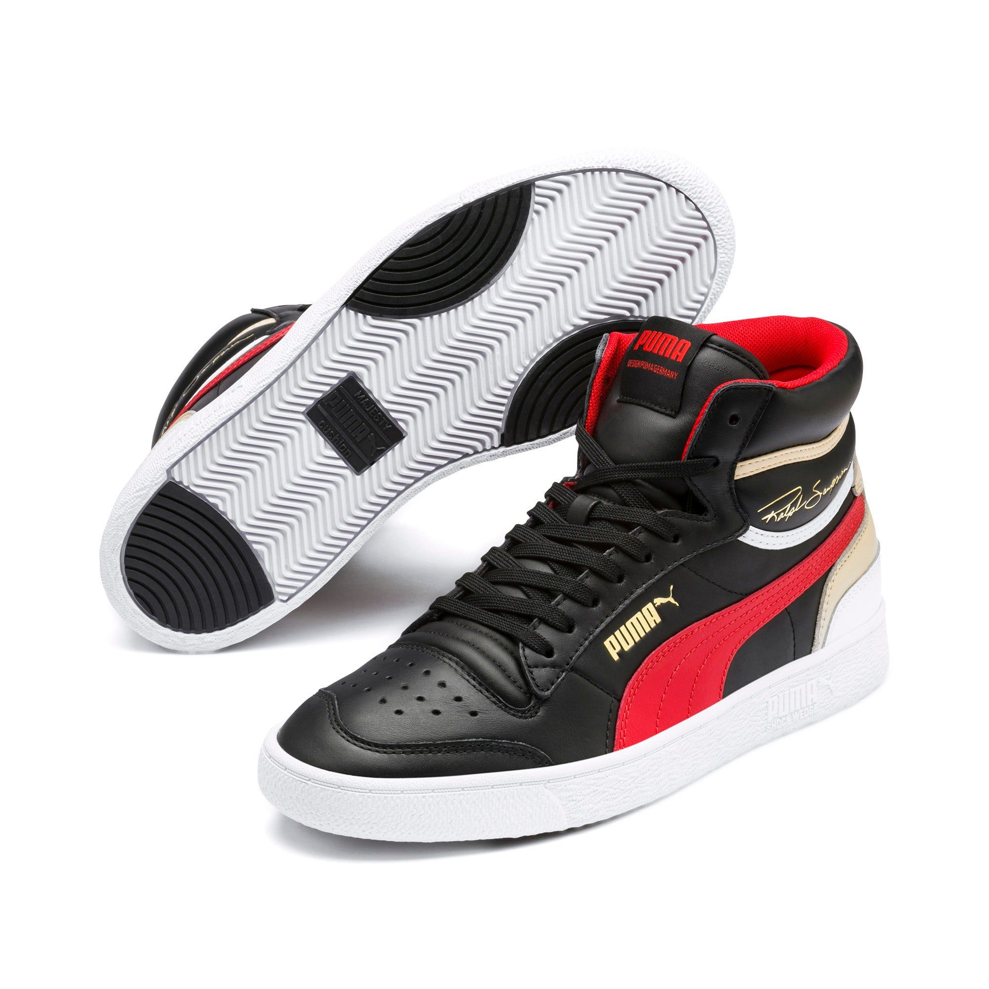 puma basket mid trainer