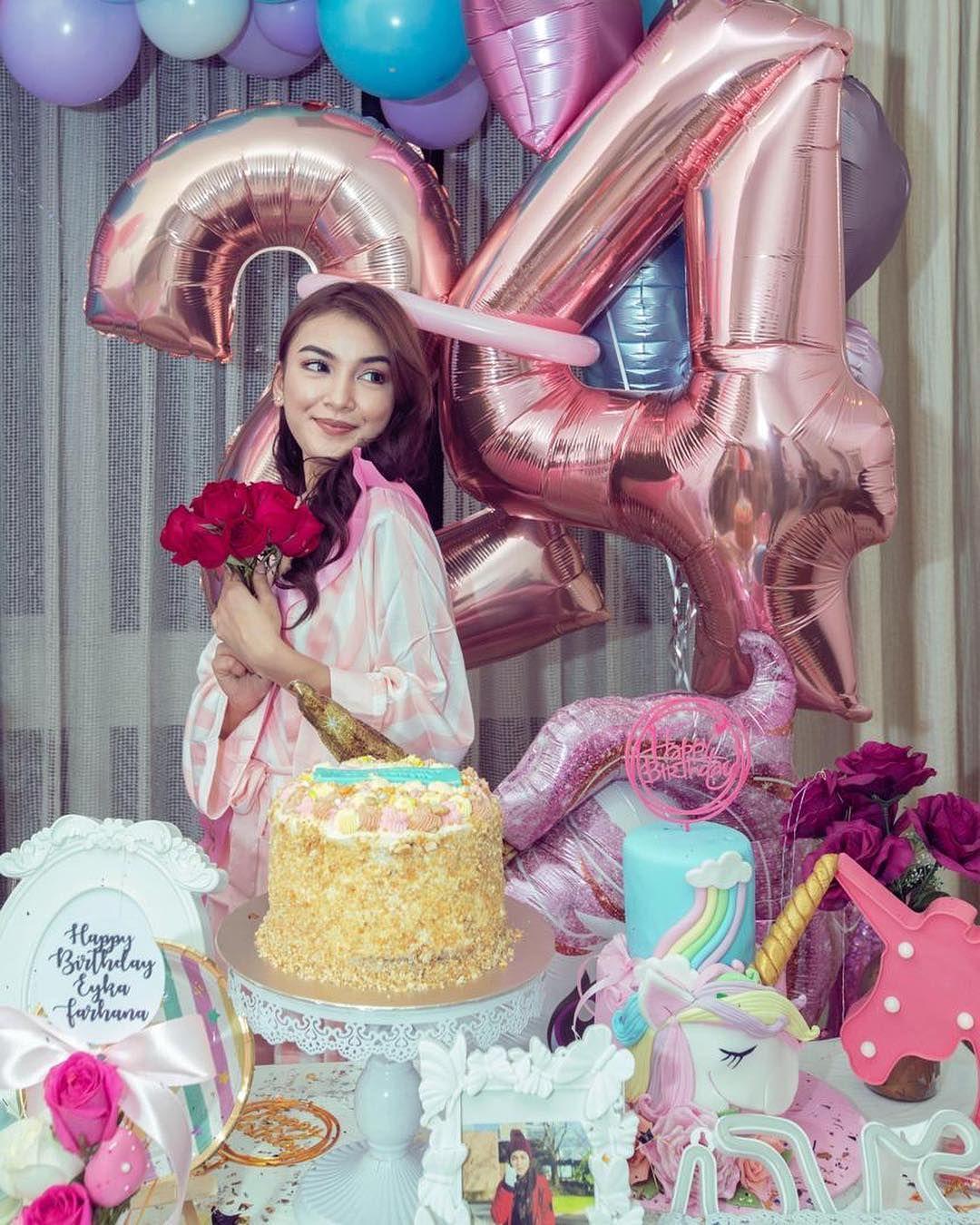 Eyka farhanas 24th birthday celebration