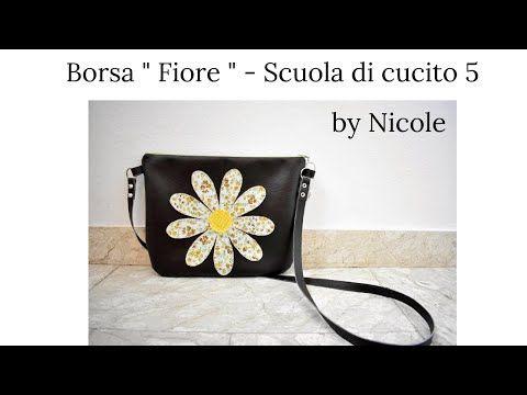 """Photo of Scuola di cucito #5 Borsa """"Fiore"""" – Come cucire una borsa facile"""
