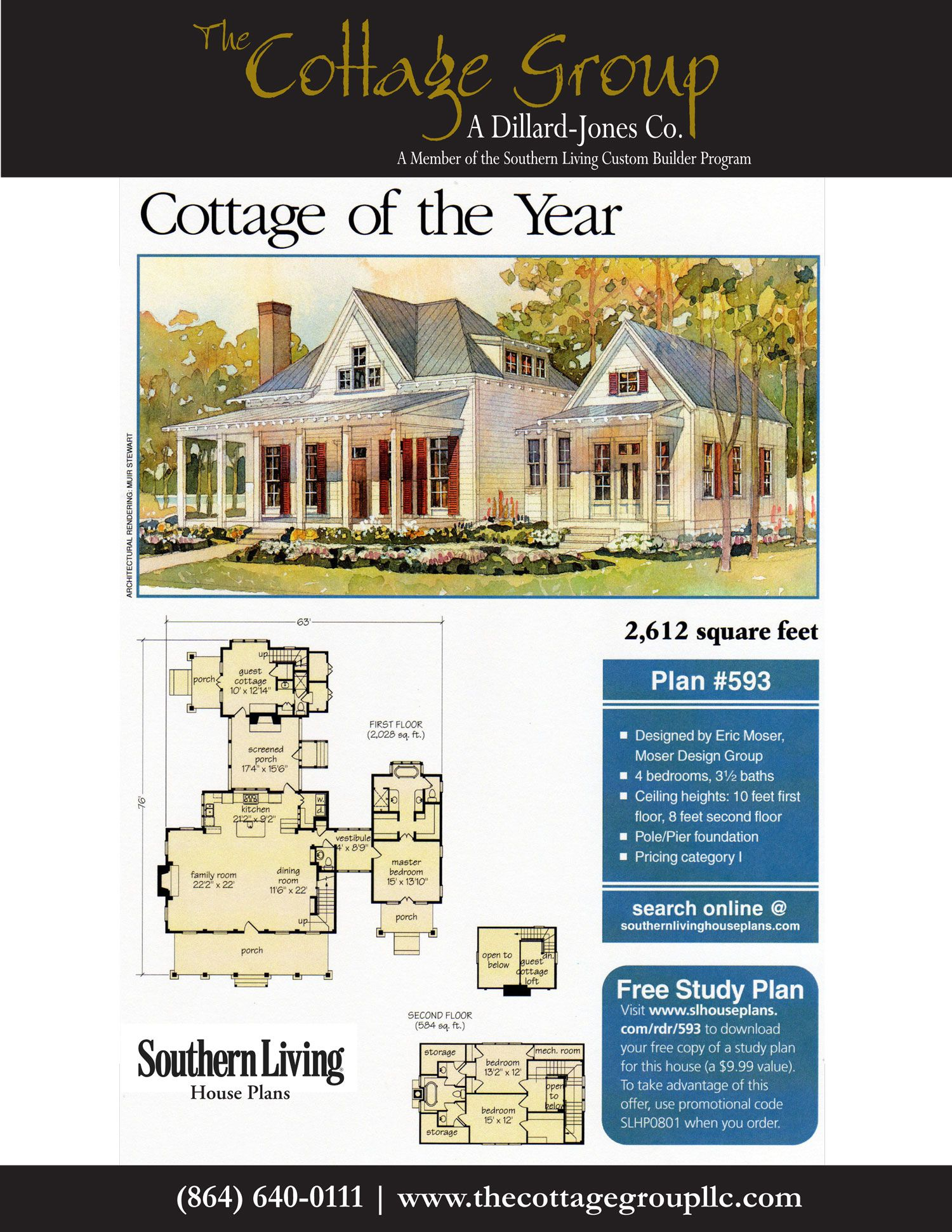 Cottage Of The Year The Cottage Group House Plans Coastal Cottage Southern Living House Plans