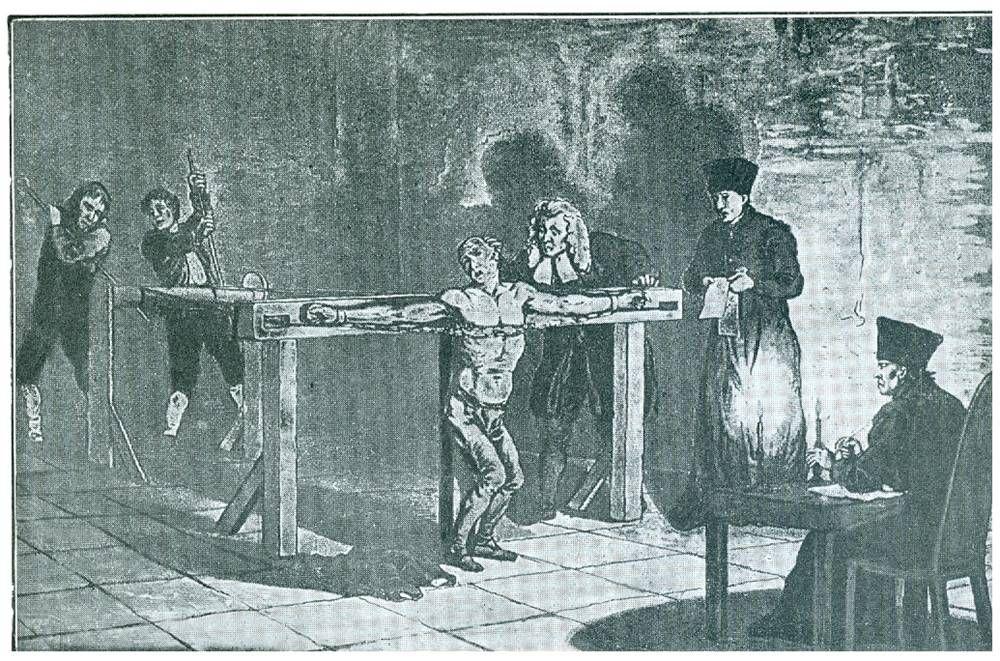 Картинка пыток инквизиция