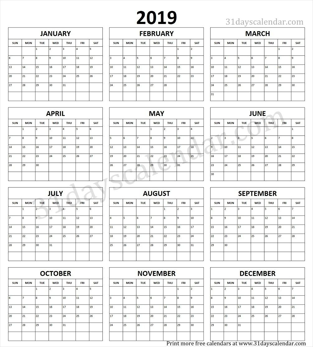blank yearly calendar template 2017 yearly calendar