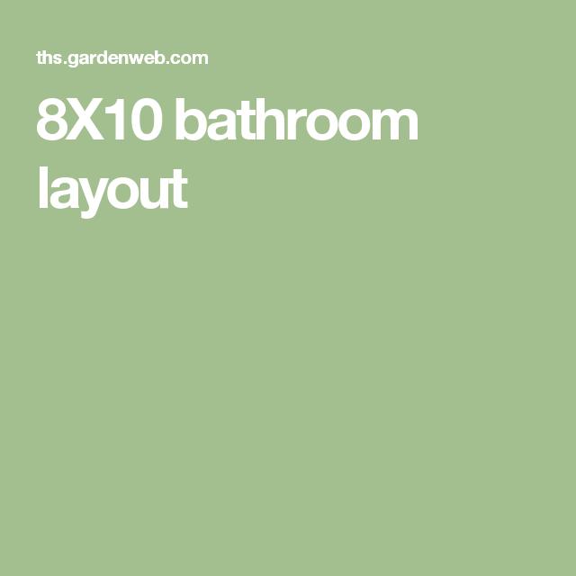 8X10 bathroom layout | Bathroom layout, Layout, Bathroom