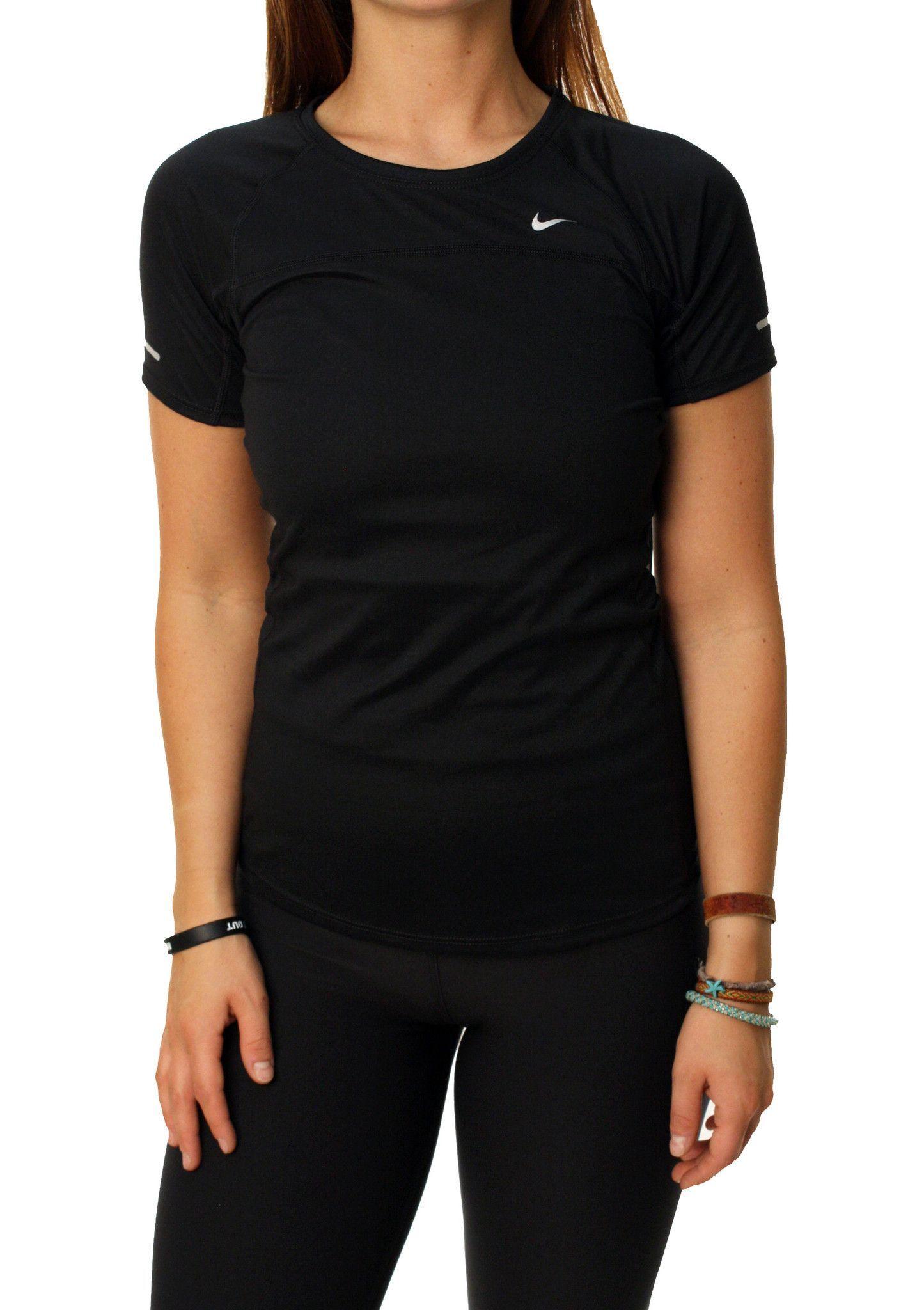 5da02406c9c0 Nike Women s Dri-Fit Stay Cool Miler Running Shirt