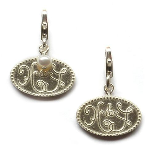 Hope and Faith detachable charms by Sophia & Chloe--perfect for adding to your favorite bracelet or necklace! $52