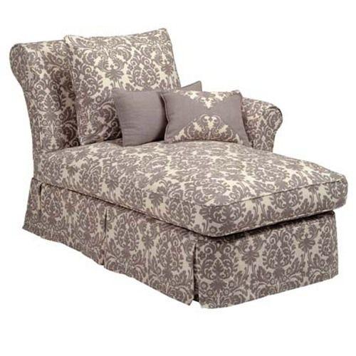 One Arm Sofa Slipcover Bauhaus Sofas Cama Layla Slipcovered Chaise Furniture Pinterest Cottage
