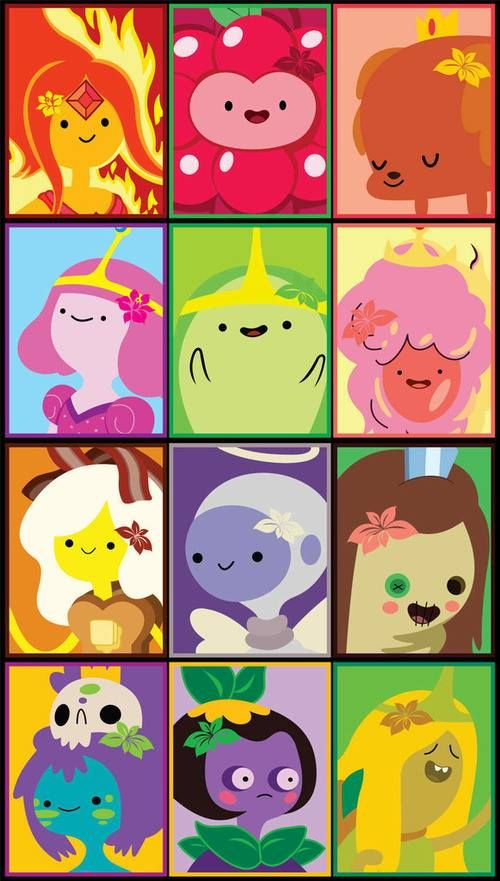 Flame Princess Wildberry Princess Hot Dog Princess Princess Bubblegum Slime Princess Cotton Adventure Time Characters Adventure Time Adventure Time Anime