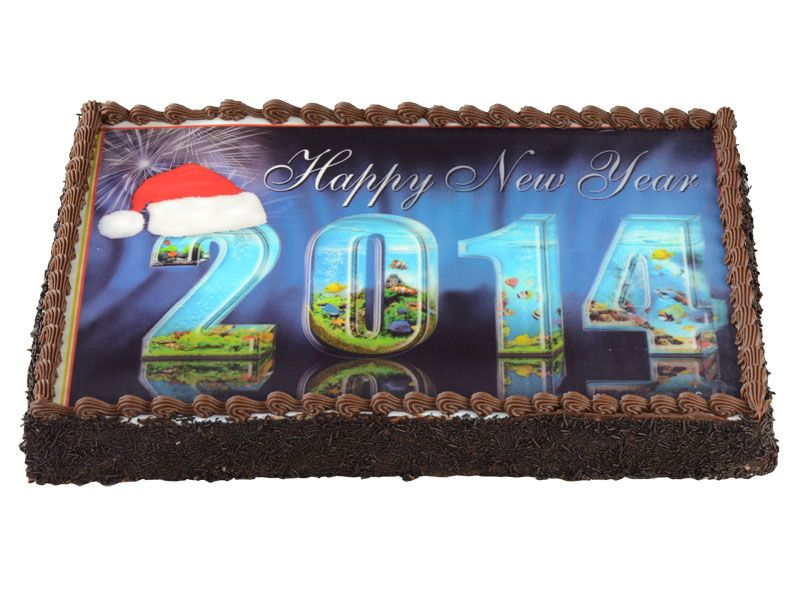 Let's have a sweet welcome of 2014 Order Now - http://www.monginis.net/product/happy-new-year-2/