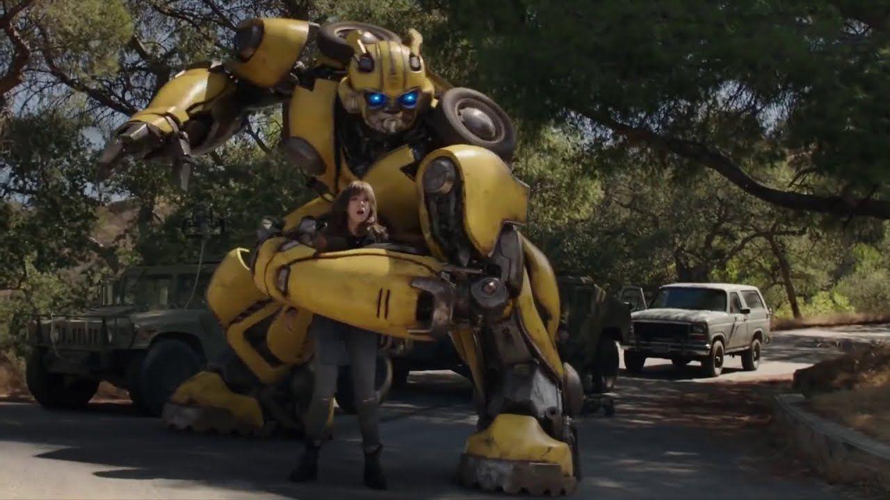 Bumblebee Movie Bumblebee Vs Sector 7 Agents Fight Scene